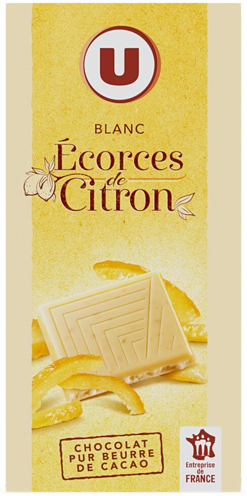 Blanc écorces de citron - Produit