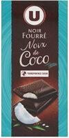 Noir fourré noix de coco - Produit - fr