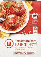 Tomates farcies et riz cuisiné - Produit - fr