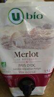 Pays d'Oc Merlot IGP rouge Le Bosquet - Produit - fr