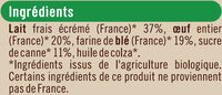 Petites Crêpes Bretonnes, - Ingredients