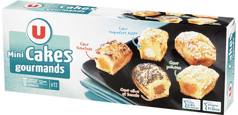 Mini cakes gourmands - Product - fr