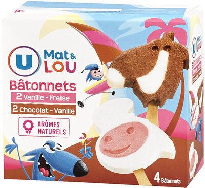 Glace U_MAT_ET_LOU - Produit