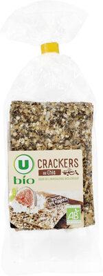 Crackers au chia - Product - fr