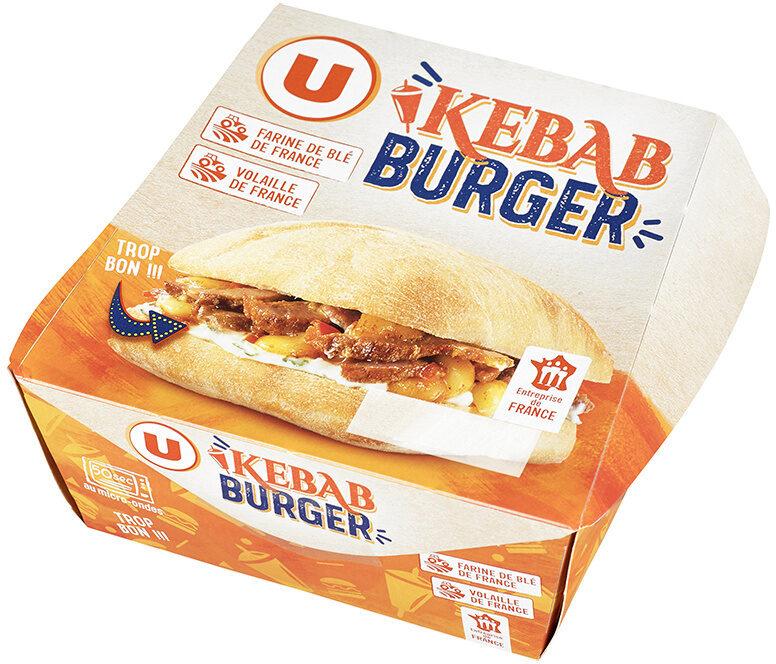Kebab burger - Produit