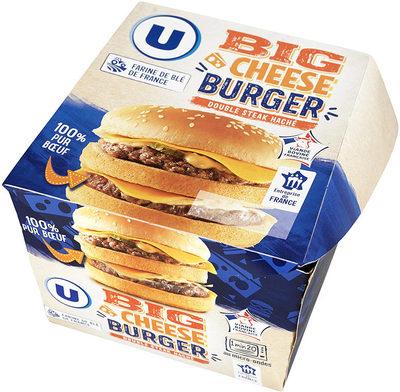 Big cheese burger double steak haché 100% pur boeuf - Produit