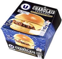 Burger Le Charolais fromager  boeuf sauce Fourme d'Ambert et emmental - Product
