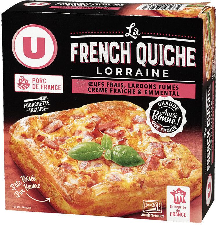 Quiche Lorraine la french, spécial micro-ondes - Produit