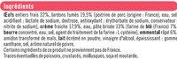 Quiche Lorraine la french, spécial micro-ondes - Ingrédients