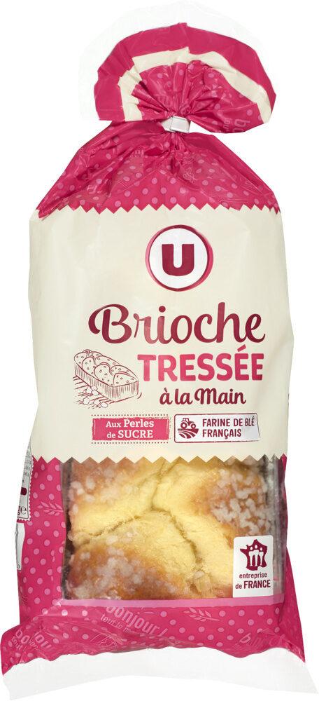 Brioche tressée aux perles de sucre - Product - fr