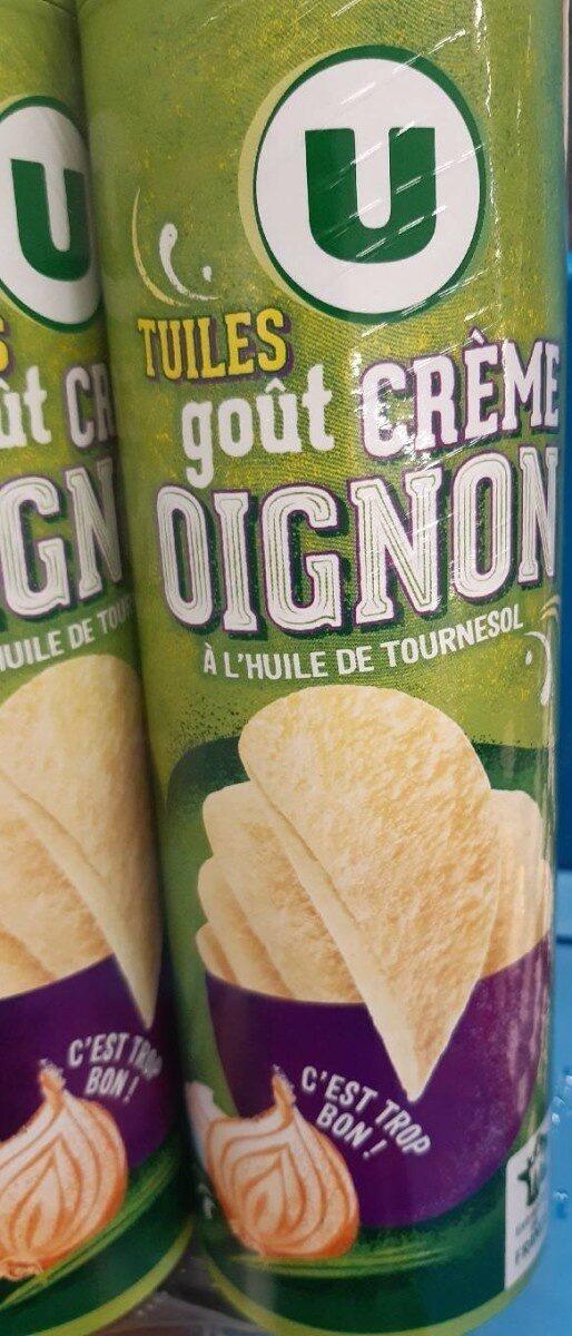 Tuiles goût crème oignon - Produit - fr