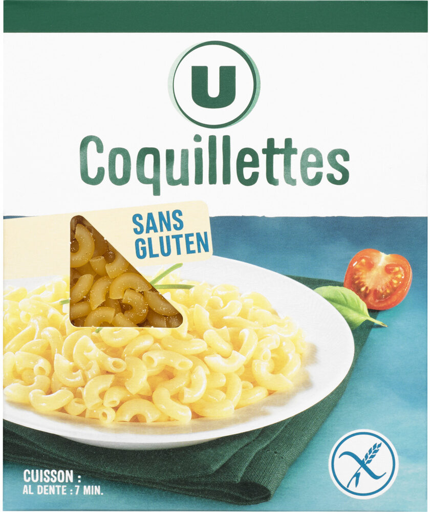 Coquillettes sans gluetn - Produit - fr