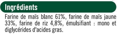 Coquillettes sans gluetn - Ingrédients - fr