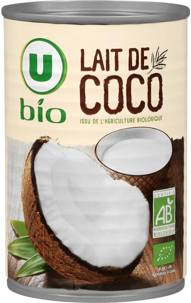 Lait de coco issu de l'agriculture biologique Bio - Product - fr