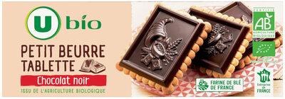 Tablette petit beurre au chocolat noir - Product - fr