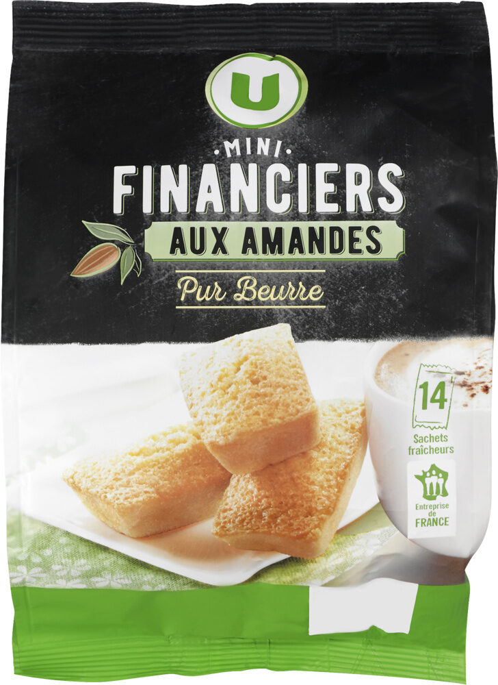 Mini financier aux amandes pur beurre - Produit - fr