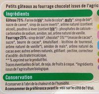 Mini Moelleux Framboise - Ingrédients
