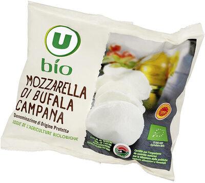 Fromage AOP Mozzarella di bufala campana biologique 27% de MG - Product