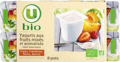Yaourts brassés à la pulpe de fruits - Produit - fr