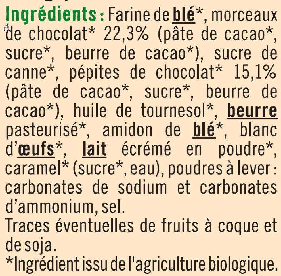 Cookies maxi pépites de chocolat - Ingrédients - fr