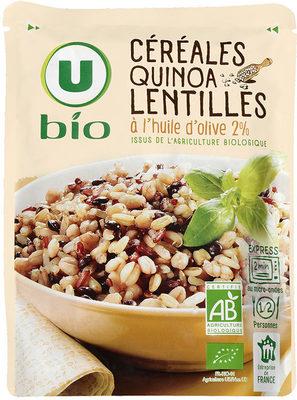 Céréales quinoa lentilles à l'huile d'olive 2% - Product
