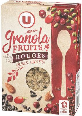 Muesli granola fruits rouges - Product