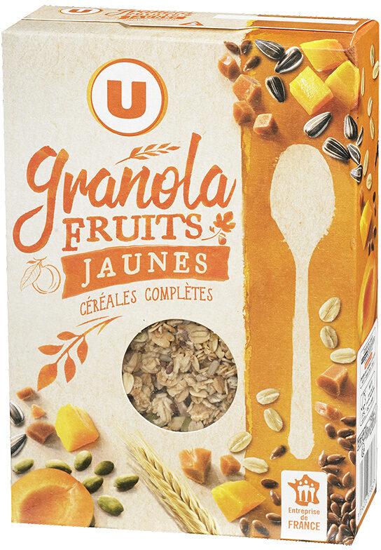 Muesli granola fruits jaunes - Product - fr