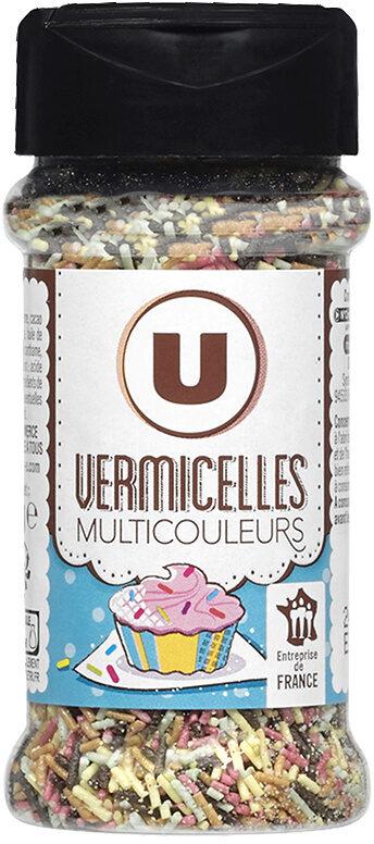 Vermicelles multicolores - Produit