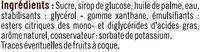 Pâte à sucre à dérouler - Ingrediënten - fr