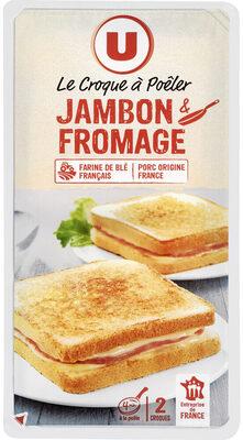 Croque à poêler au jambon et fromages - Produit - fr