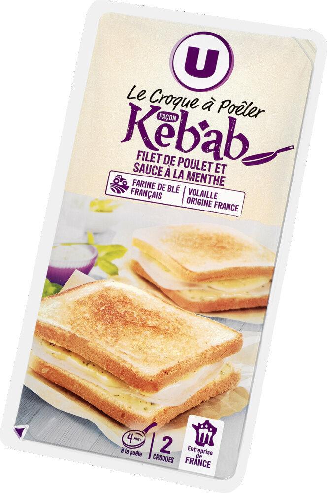 Croque à Poêler Saveur Kebab - Produit - fr