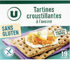 Tartines croustillantes à l'avoine - Product