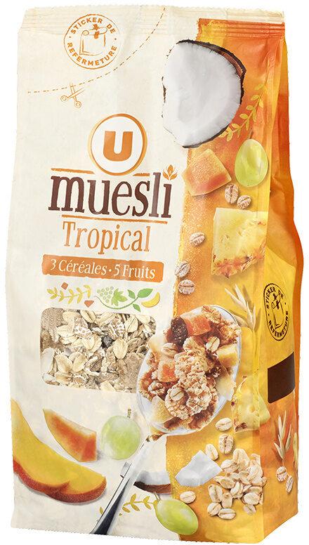 Muesli tropical - Product - fr
