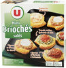 Mini briochés - Product
