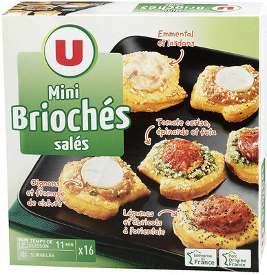 Mini briochés - Product - fr