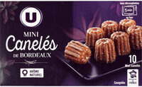 Mini cannelés de Bordeaux - Product - fr