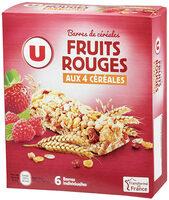 Barre de céréales fruits rouges - Product