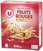 Barre de céréales fruits rouges - Produit