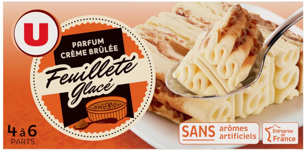Feuilleté glacé parfum crème brulée - Produit - fr