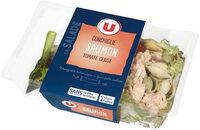 Salade de conchiglie au saumon et tomate cerise - Product - fr