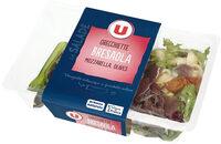 Salade Orecchiette Bresaola, mozarella et olives - Produit - fr
