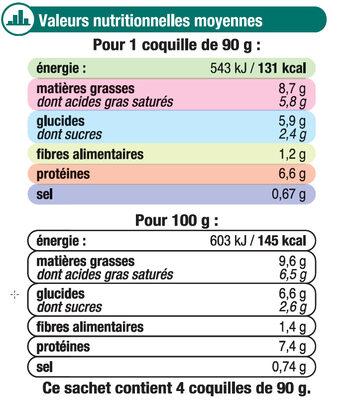 Coquilles St Jacques MSC 30% noix cuisinées à la bretonne - 9