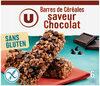 Barres de céréales saveur chocolat sans gluten - Produto
