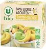 Purée pomme banane sans sucres ajoutés - Produit