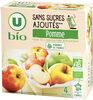 Purée de pomme sans sucres ajoutés - Produkt
