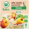 Purée de pomme sans sucres ajoutés - Product