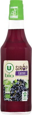 Sirop cassis - Produit - fr