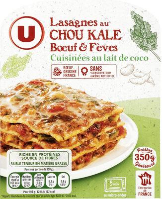 Lasagne au chou kale et à la viande bovine - Product - fr