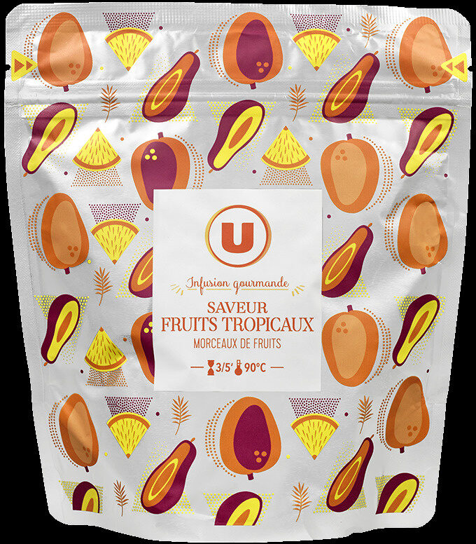 Infusion gourmande saveur fruits tropicaux - Product
