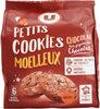 Petits cookies moelleux chocolat & pépites chocolat - Product